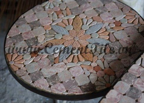 Bàn Mosaic thủ công CTS-07
