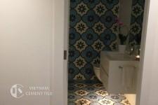 gach bong-gach-nhà-vệ-sinh-7 Hướng dẫn trang trí nhà tắm siêu đẹp bằng gạch ốp lát
