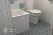 gach bong-gach-nhà-vệ-sinh5 Hướng dẫn trang trí nhà tắm siêu đẹp bằng gạch ốp lát
