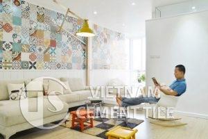 gach bong-1-4-300x200 Gạch bông mang lại vẻ đẹp hoàn hảo cho phòng khách