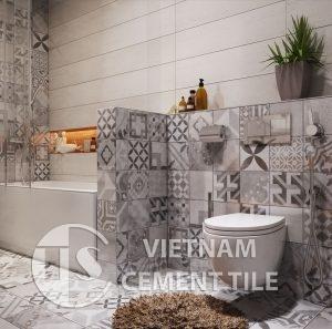 gach bong-11-1-300x297 Chọn gạch ốp trang trí đẹp mắt cho nhà tắm