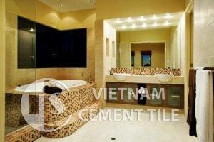 gach bong-3-7-300x200 Không gian nhà tắm trở lên độc đáo khi trang trí bằng gạch mosaic