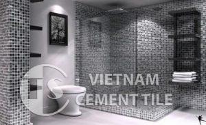 gach bong-4-5-300x183 Không gian nhà tắm trở lên độc đáo khi trang trí bằng gạch mosaic