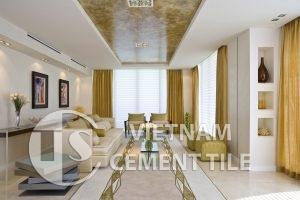 gach bong-5-9-300x200 Sử dụng gạch ốp trang trí để thay đổi không gian phòng khách
