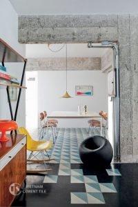 gach bong-carreaux-ciment-idées-déco_13-200x300 Trang trí nhà bằng gạch ốp lát siêu đẹp
