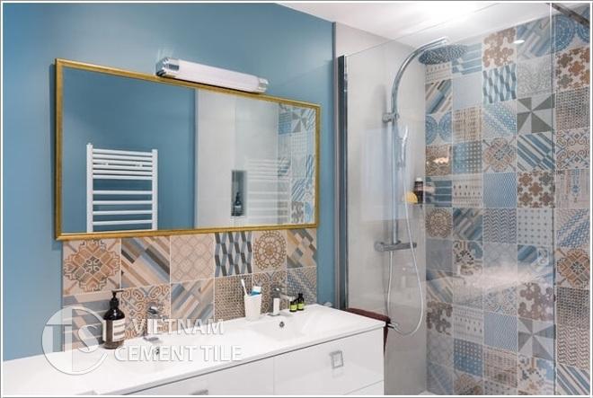 gach bong-gạch-bông-33 Cách lựa chọn gạch ốp tường và gạch lát sàn cho căn nhà bạn