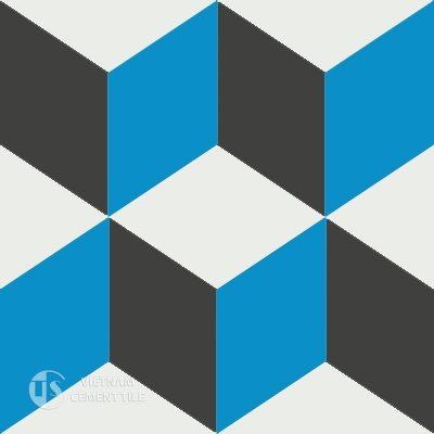 Gạch bông cổ điển CTS 8.7